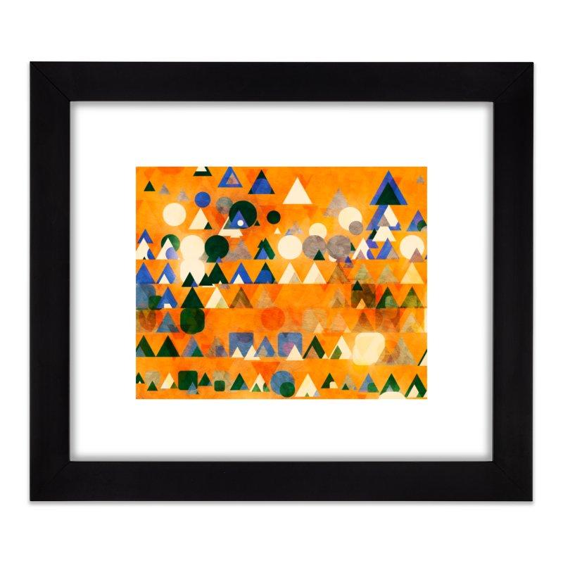 Dots Bot — 3 Home Framed Fine Art Print by jamesshedden's Artist Shop