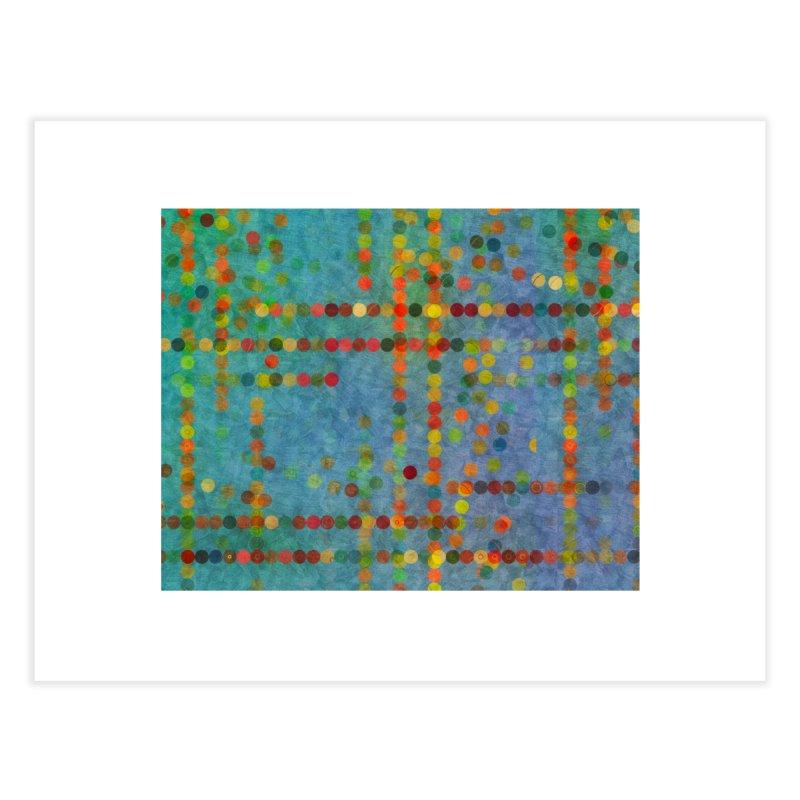 Dots Bot — 5 Home Fine Art Print by jamesshedden's Artist Shop