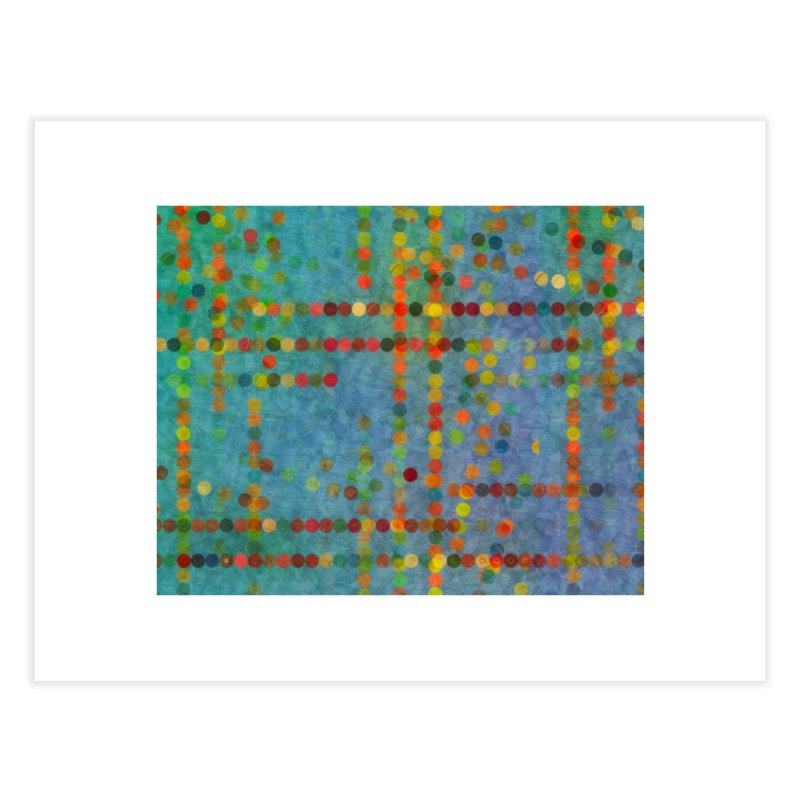 Dots Bot — 5 Home Fine Art Print by jamesshedden's Artist Shop