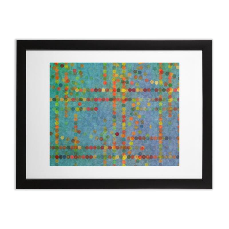 Dots Bot — 5 Home Framed Fine Art Print by jamesshedden's Artist Shop