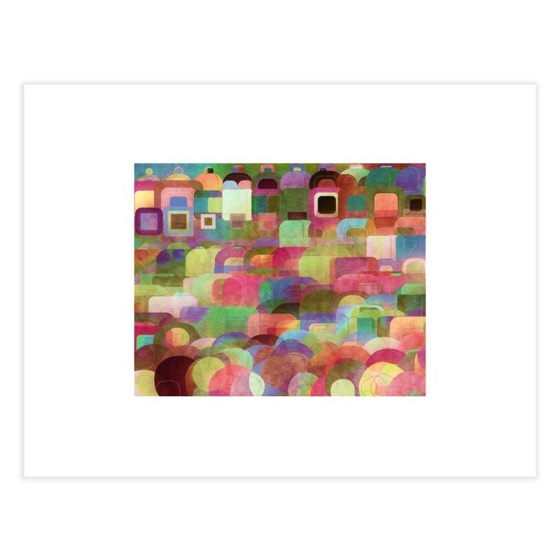 Dots Bot — 2 Home Fine Art Print by jamesshedden's Artist Shop