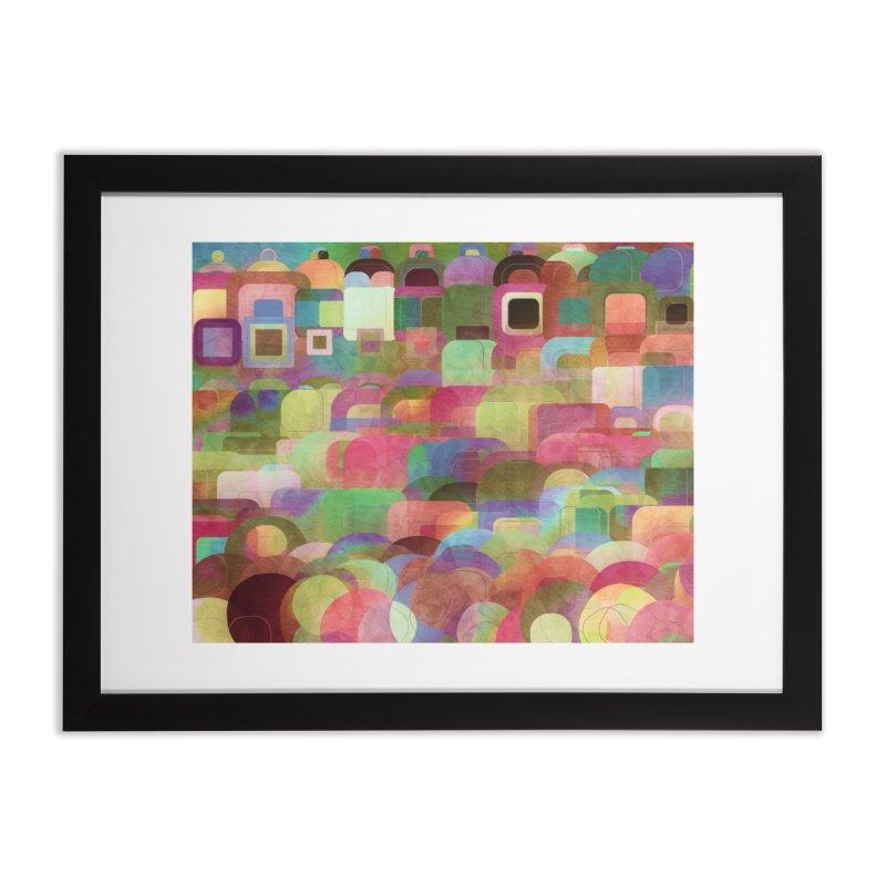 Dots Bot — 2 Home Framed Fine Art Print by jamesshedden's Artist Shop