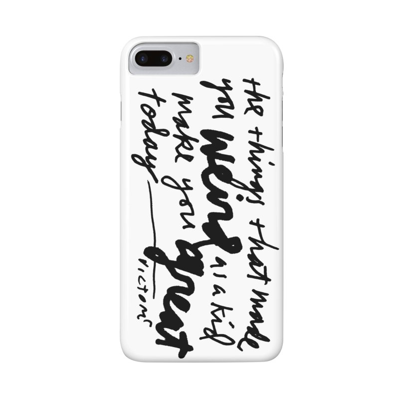 Weird Kid phone case Accessories Phone Case by James Victore's Artist Shop