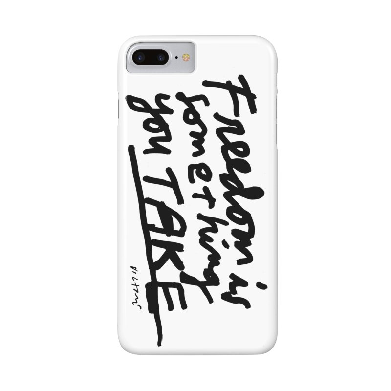 Freedom phone case Accessories Phone Case by James Victore's Artist Shop