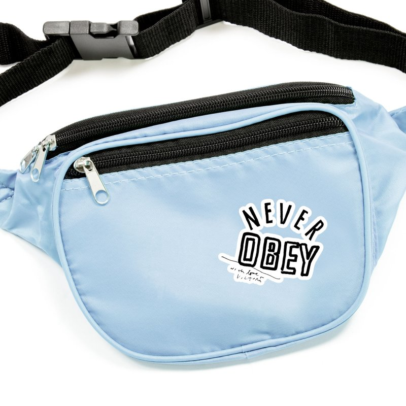 Never Obey Accessories Sticker by James Victore's Artist Shop