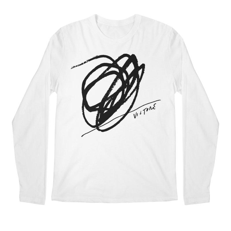 Scribble Men's Longsleeve T-Shirt by James Victore's Artist Shop