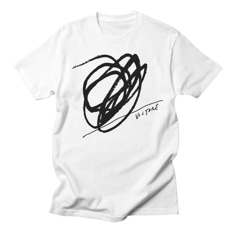 Scribble Men's T-shirt by James Victore's Artist Shop