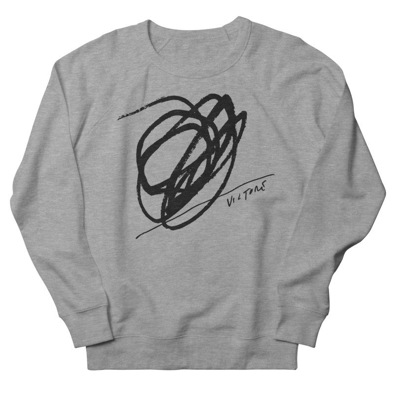 Scribble Men's Sweatshirt by James Victore's Artist Shop