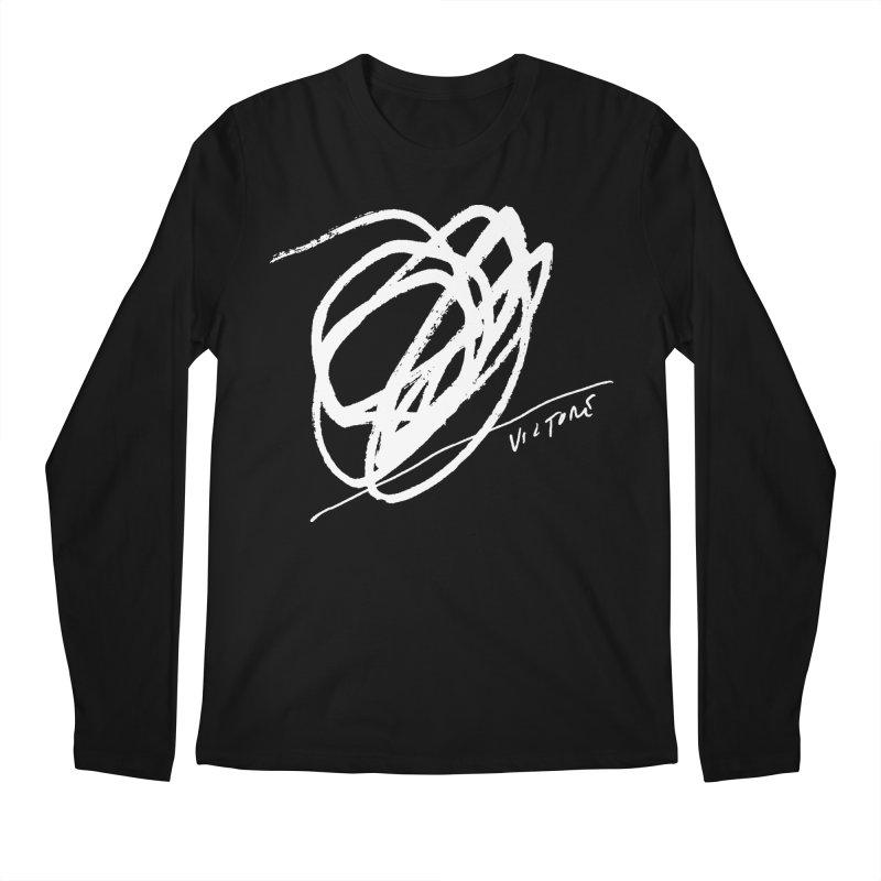Scribble (black) Men's Longsleeve T-Shirt by James Victore's Artist Shop