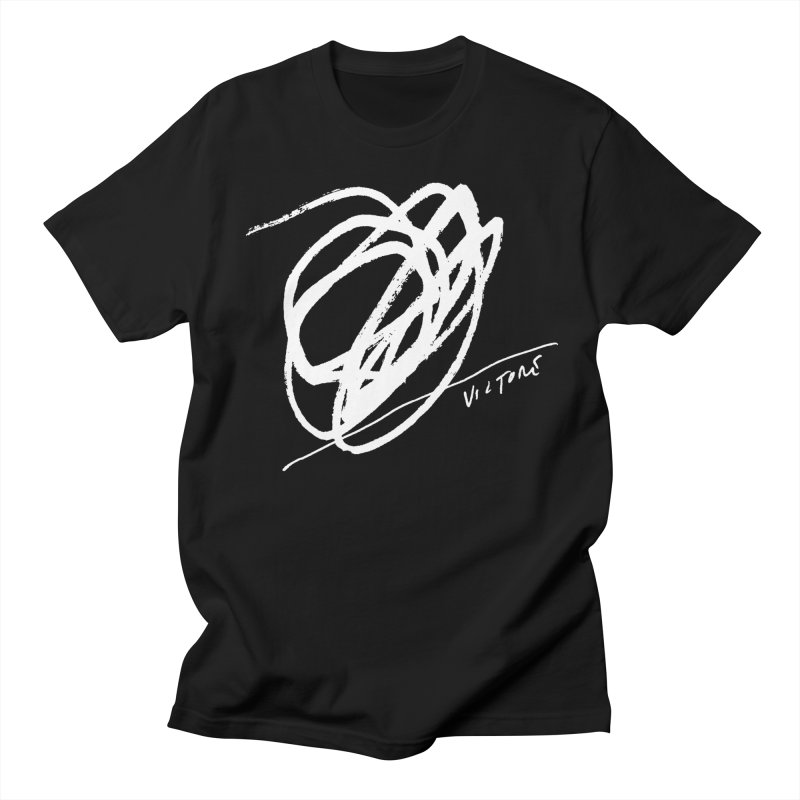 Scribble (black) Men's T-Shirt by James Victore's Artist Shop
