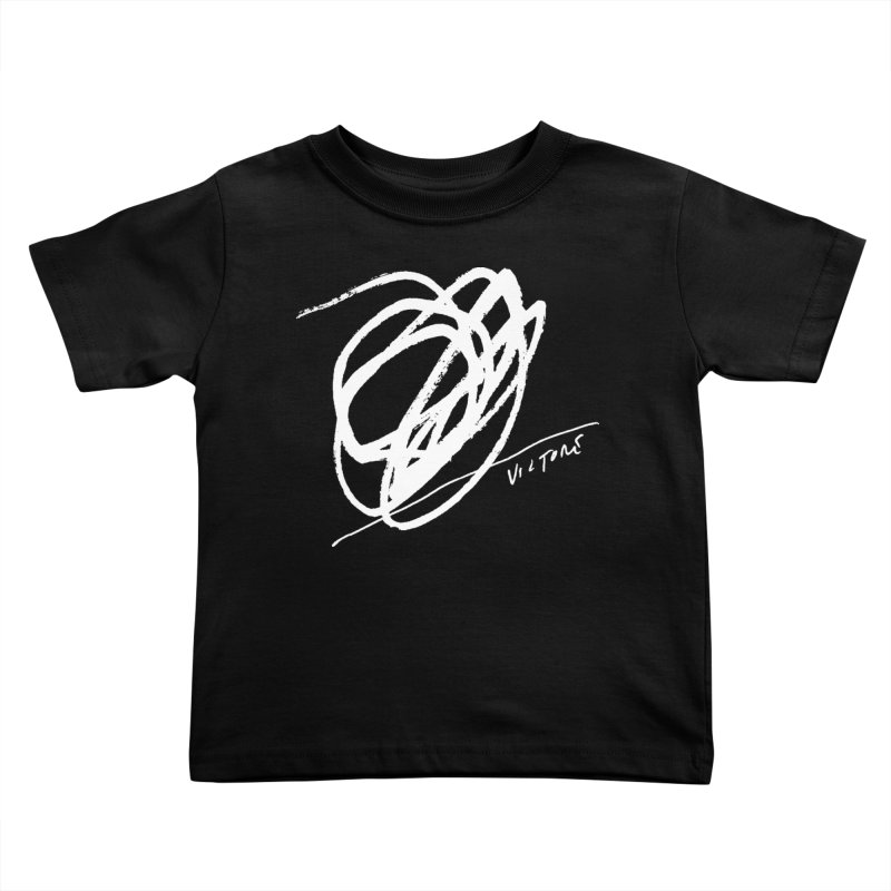 Scribble (black) Kids Toddler T-Shirt by James Victore's Artist Shop
