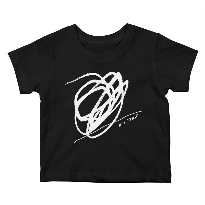 Scribble (black) Kids Baby T-Shirt by James Victore's Artist Shop
