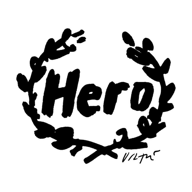 Hero Men's Longsleeve T-Shirt by James Victore's Artist Shop