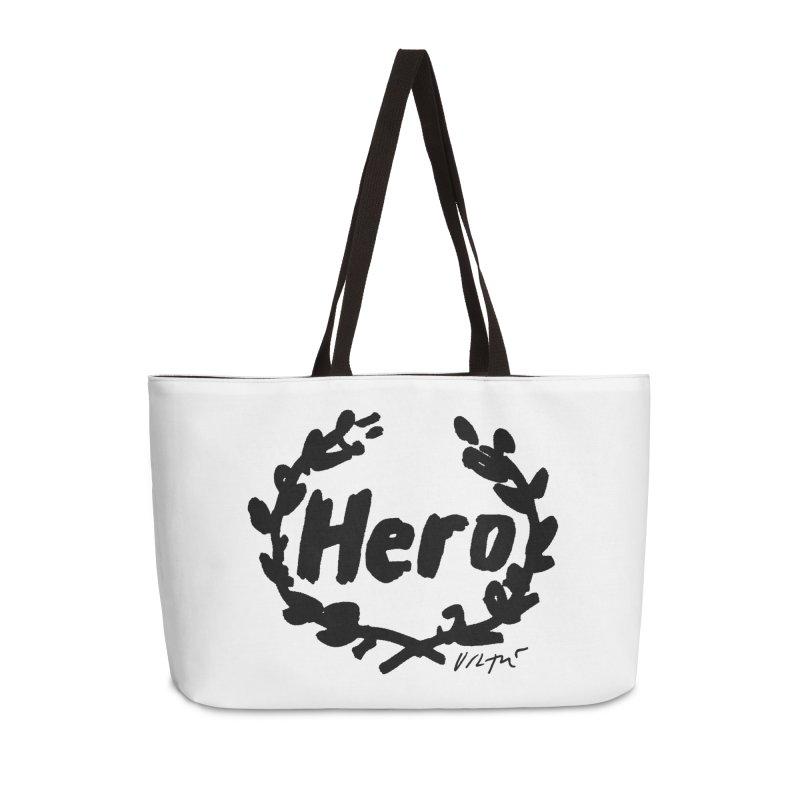 Hero Accessories Weekender Bag Bag by James Victore's Artist Shop