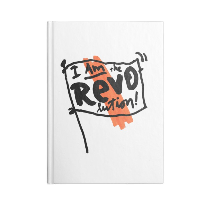 I Am The Revolution Accessories Notebook by James Victore's Artist Shop