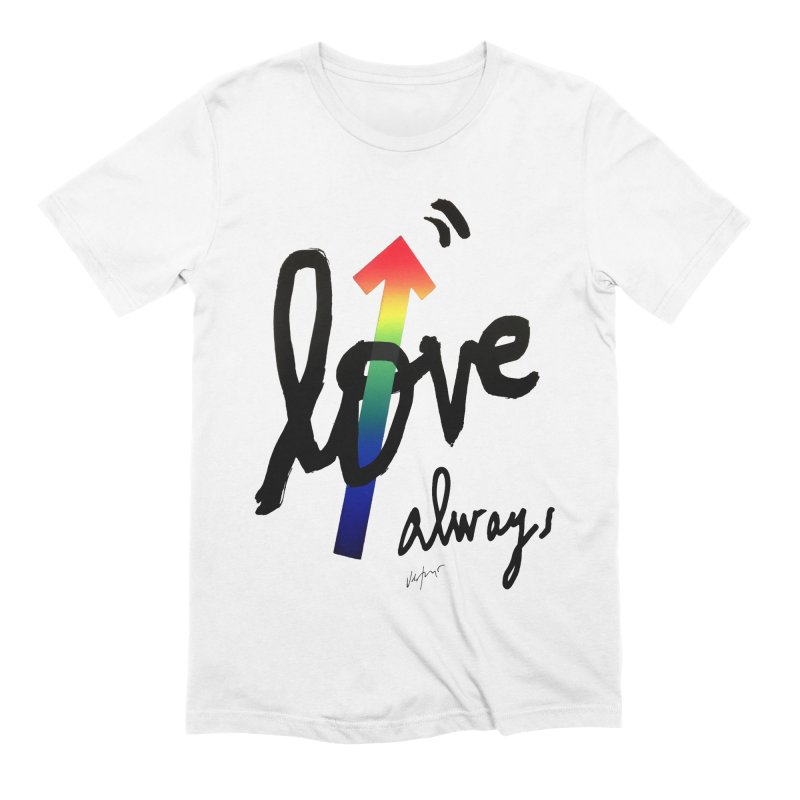 Love Always Men's Extra Soft T-Shirt by James Victore's Artist Shop