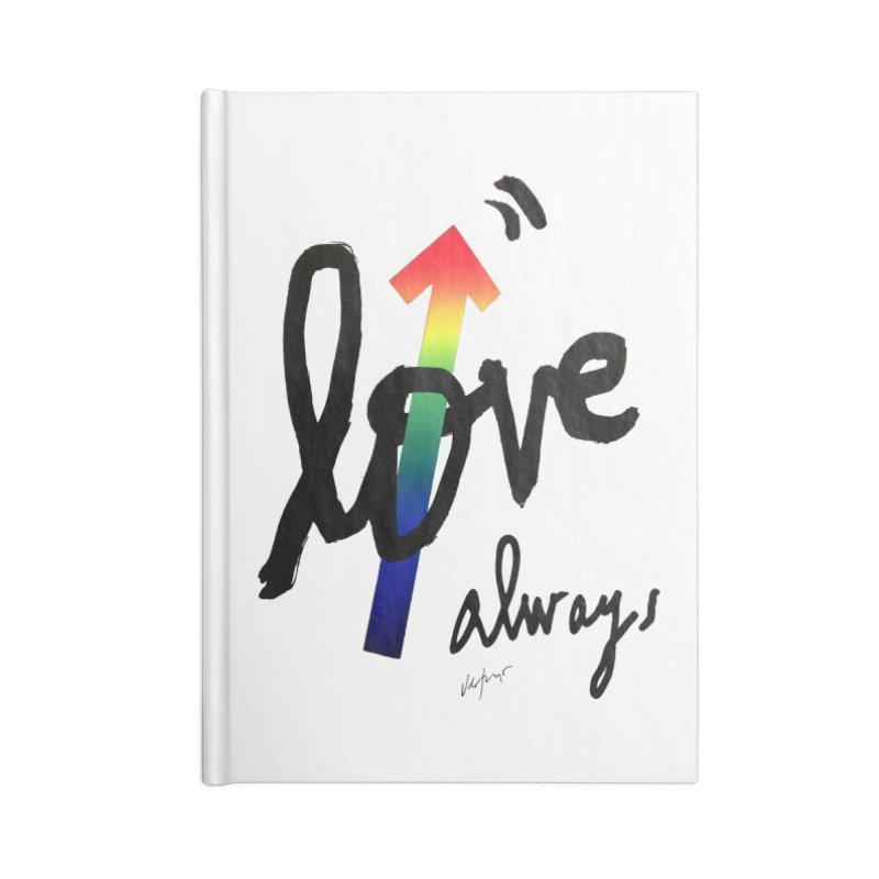 Love Always Accessories Notebook by James Victore's Artist Shop