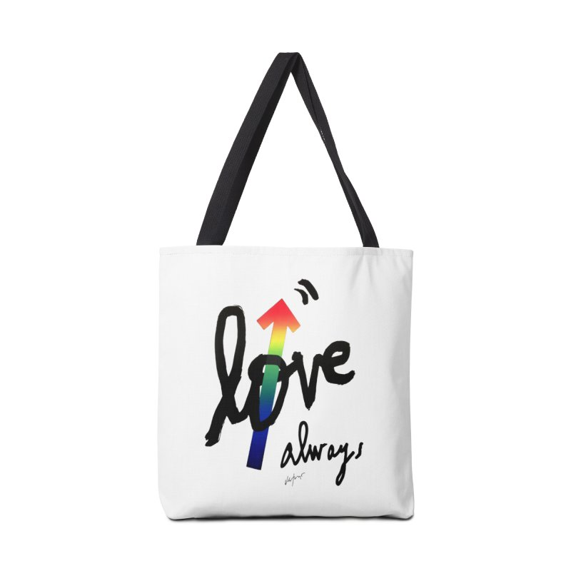 Love Always Accessories Bag by James Victore's Artist Shop