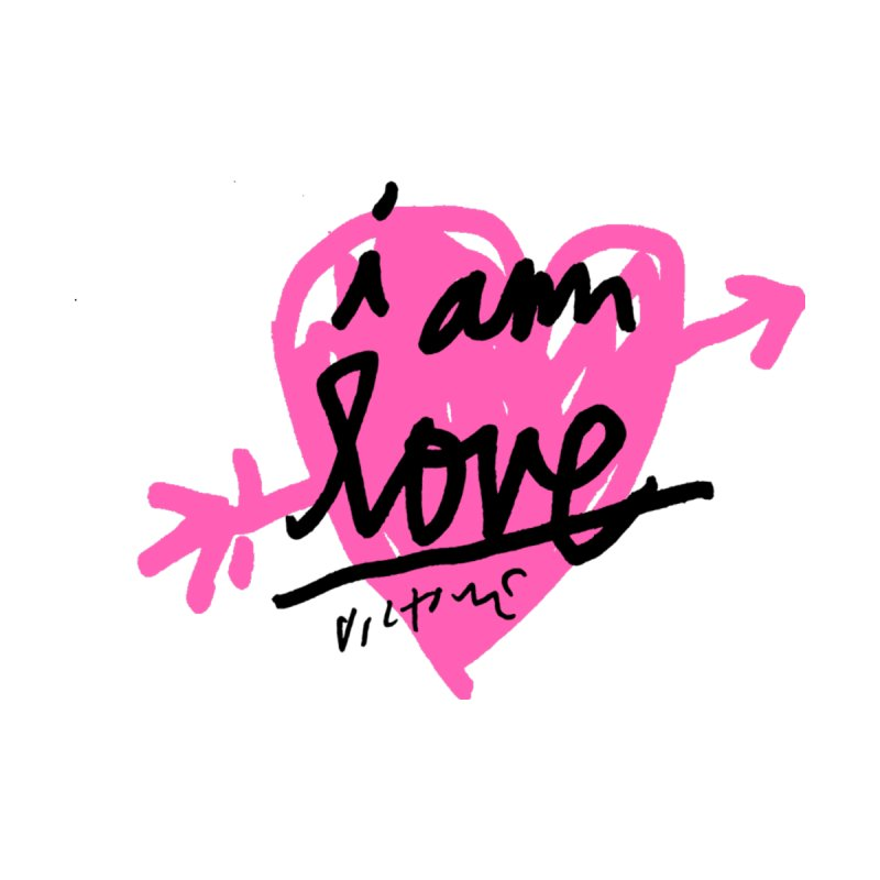 I am Love by James Victore's Artist Shop