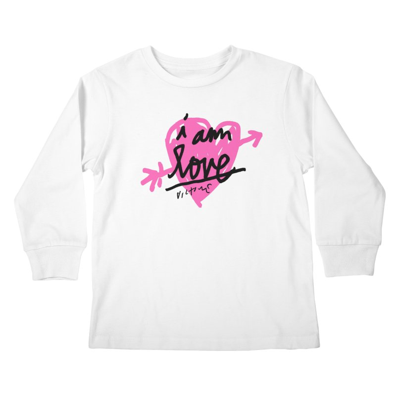 I am Love Kids Longsleeve T-Shirt by James Victore's Artist Shop