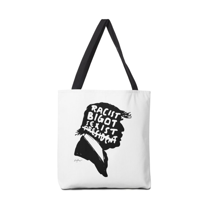 Coward in Chief Accessories Tote Bag Bag by James Victore's Artist Shop