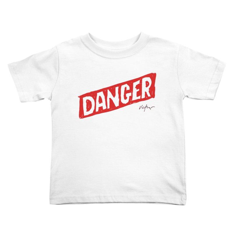 Danger Kids Toddler T-Shirt by James Victore's Artist Shop
