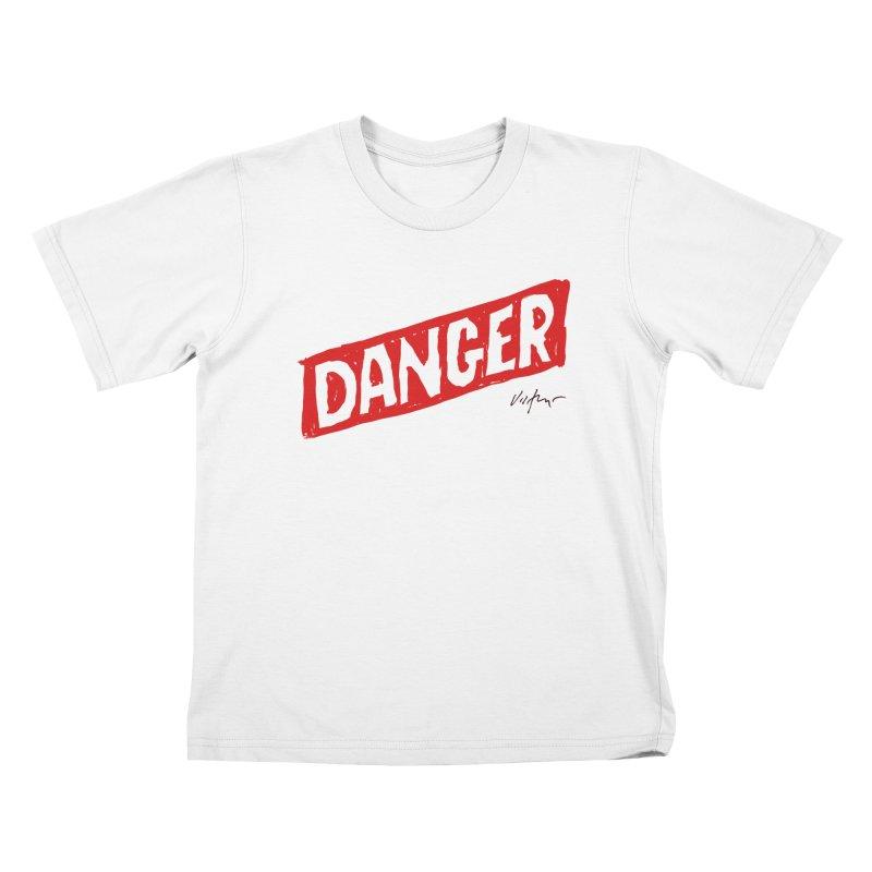 Danger Kids T-Shirt by James Victore's Artist Shop
