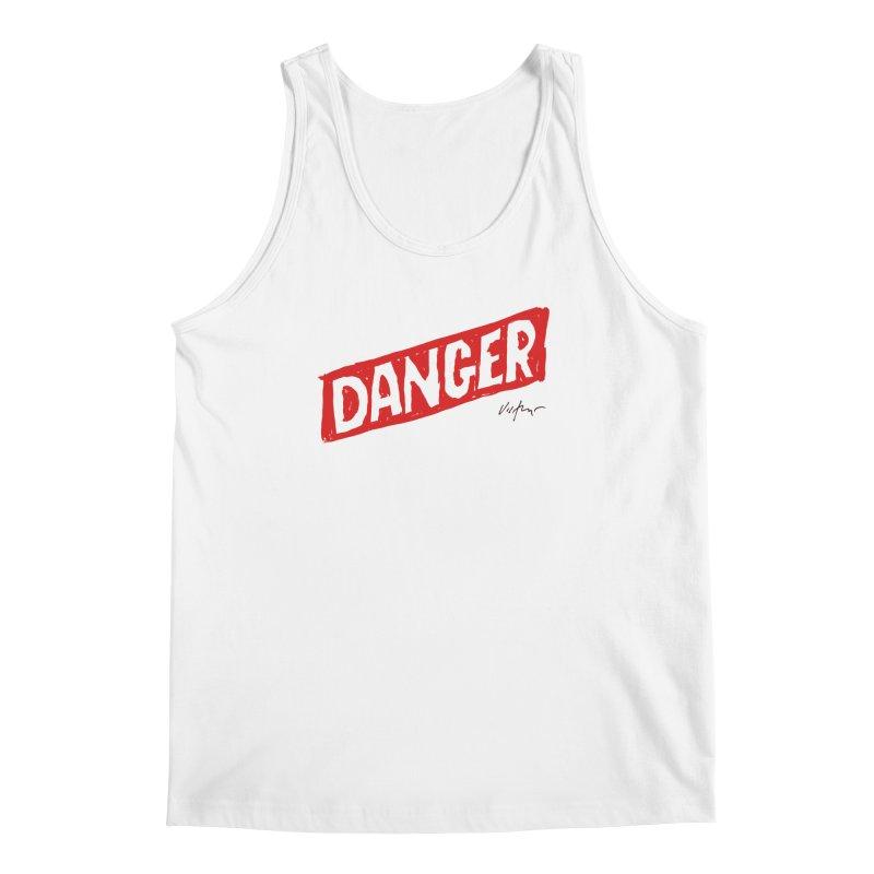 Danger Men's Regular Tank by James Victore's Artist Shop