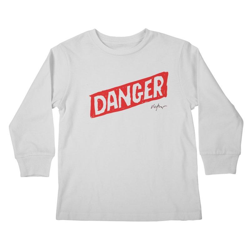 Danger Kids Longsleeve T-Shirt by James Victore's Artist Shop