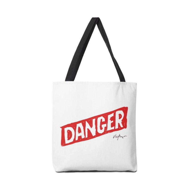 Danger Accessories Bag by James Victore's Artist Shop