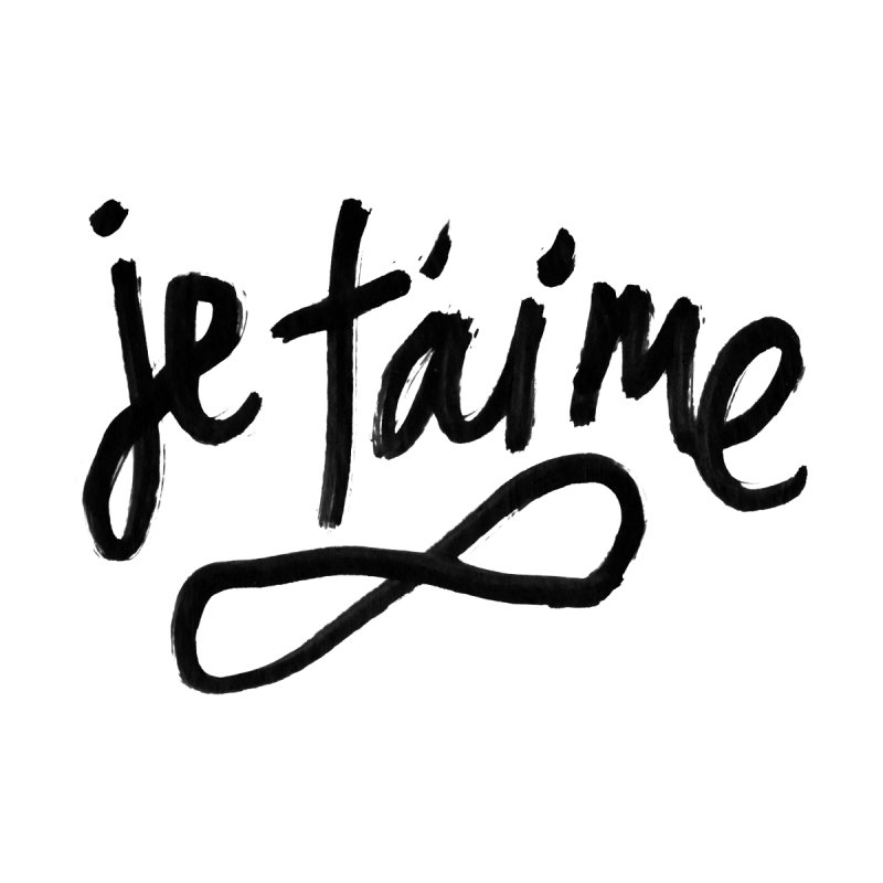 Je T'aime Men's T-Shirt by James Victore's Artist Shop