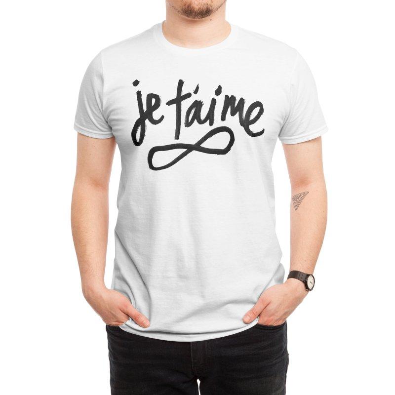 Je T'aime Men's T-Shirt by James Victore's Artist Shop