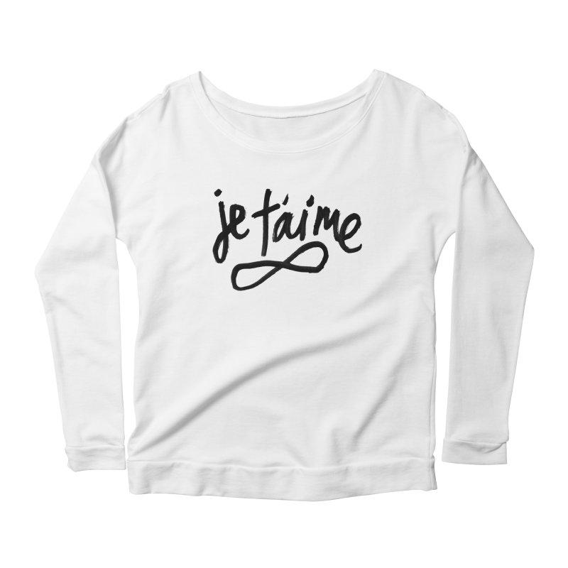 Je T'aime Women's Longsleeve T-Shirt by James Victore's Artist Shop