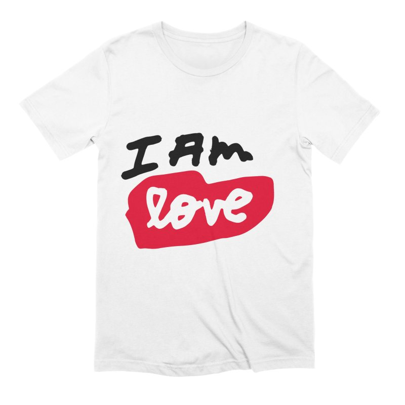 I AM: Love Men's Extra Soft T-Shirt by James Victore's Artist Shop