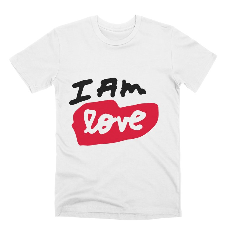 I AM: Love Men's Premium T-Shirt by James Victore's Artist Shop