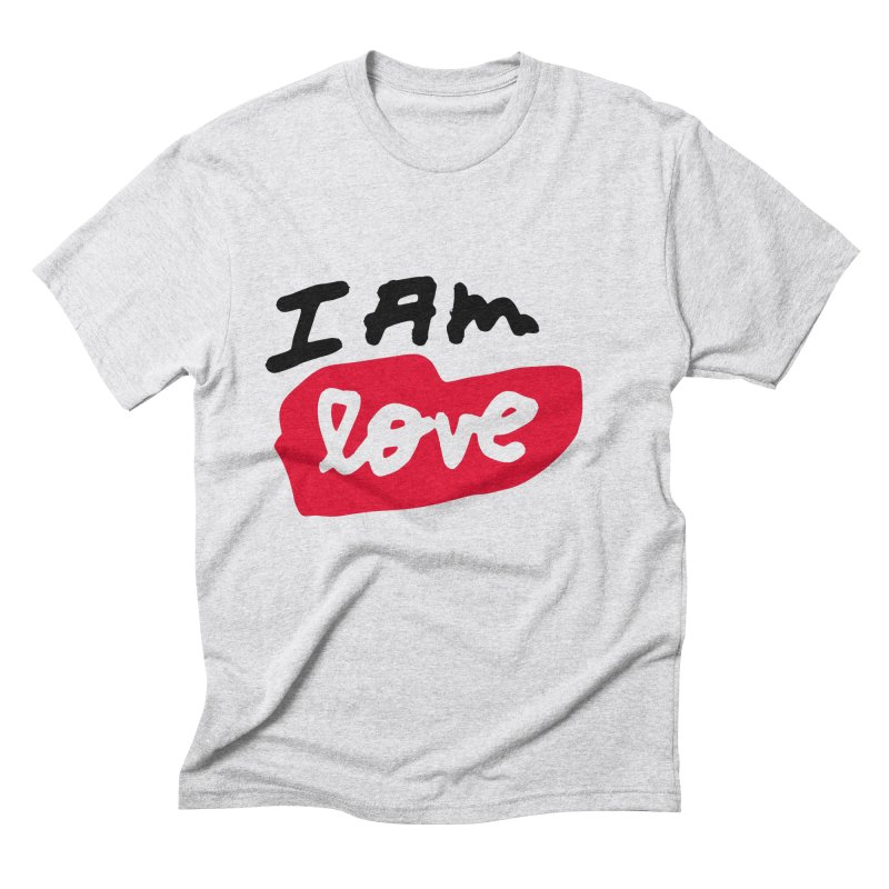 I AM: Love Men's Triblend T-Shirt by James Victore's Artist Shop