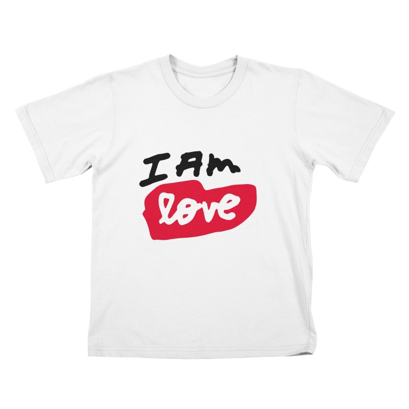 I AM: Love Kids T-Shirt by James Victore's Artist Shop