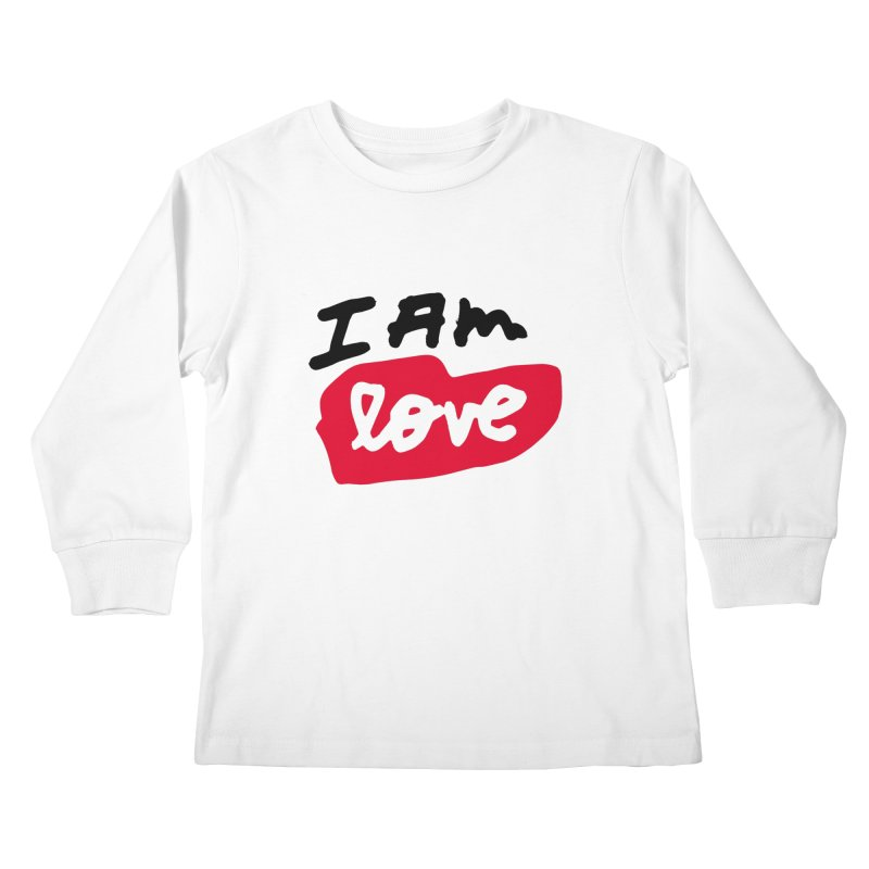 I AM: Love Kids Longsleeve T-Shirt by James Victore's Artist Shop