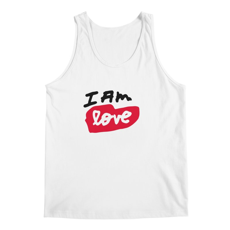 I AM: Love Men's Regular Tank by James Victore's Artist Shop