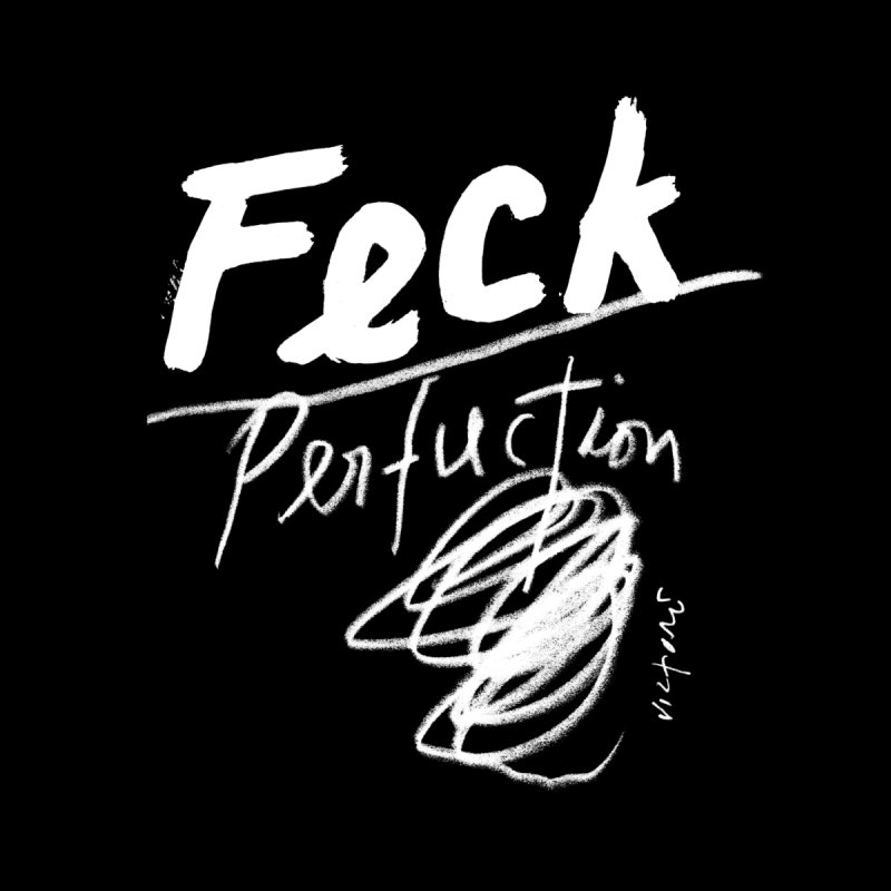 Feck Perfuction Home Framed Fine Art Print by James Victore's Artist Shop