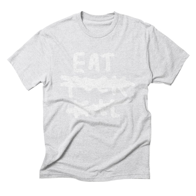 Eat Fuck Kill (black) Men's T-Shirt by James Victore's Artist Shop