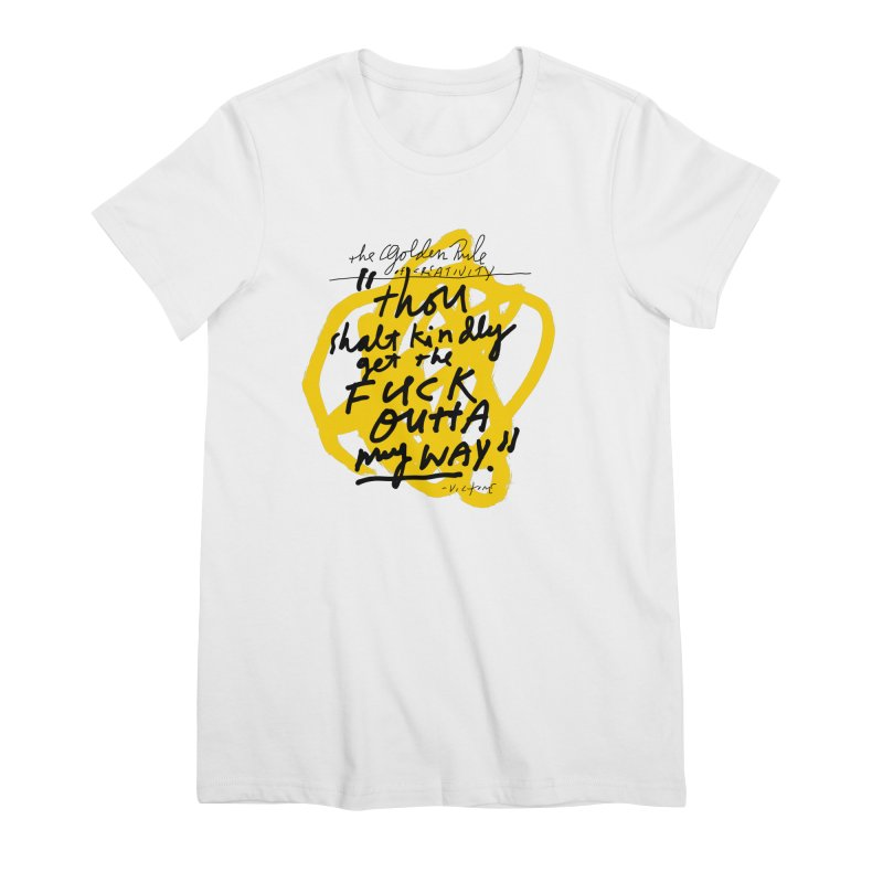 Women's None by James Victore's Artist Shop
