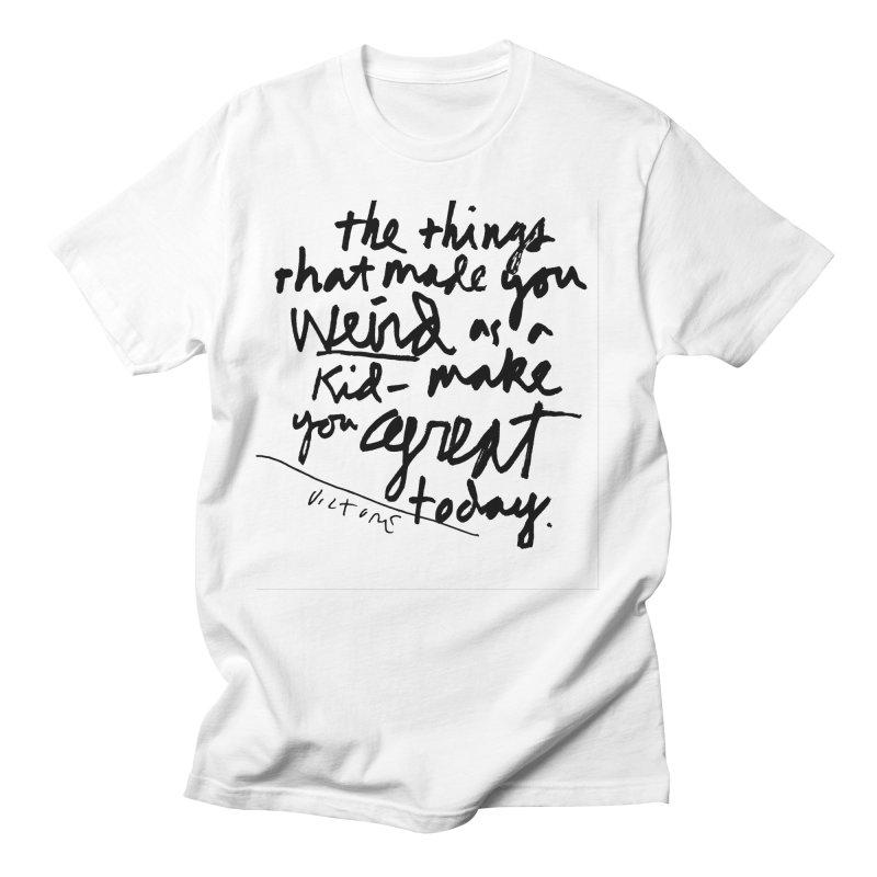 Weird Kid Men's T-Shirt by James Victore's Artist Shop