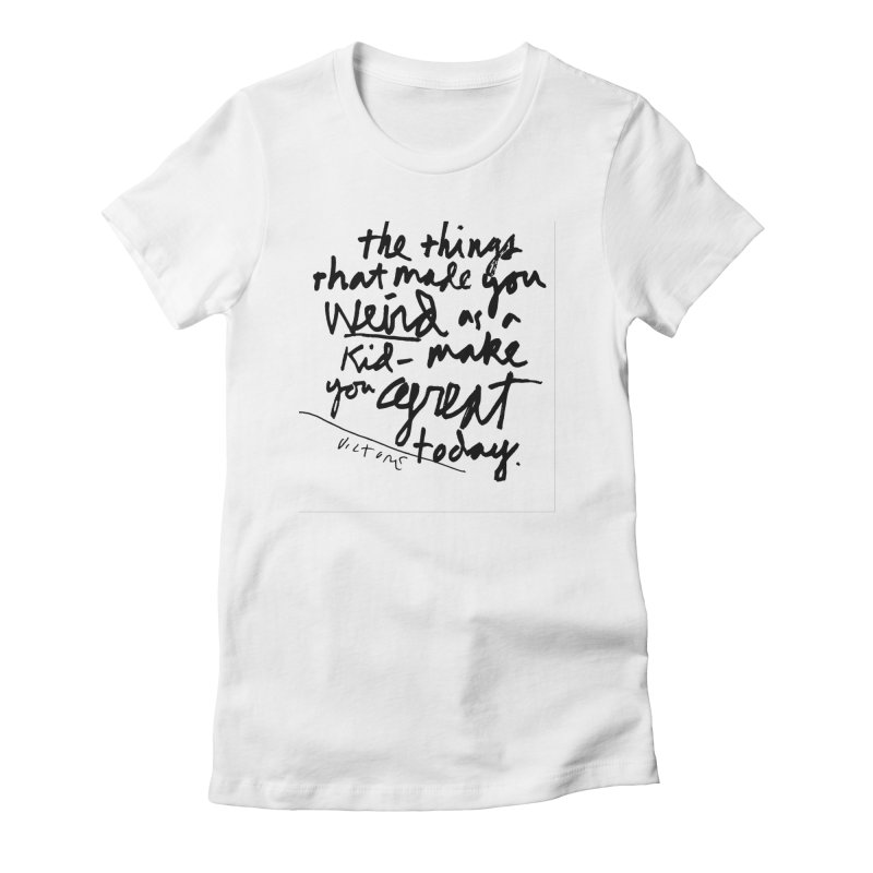 Weird Kid Women's T-Shirt by James Victore's Artist Shop
