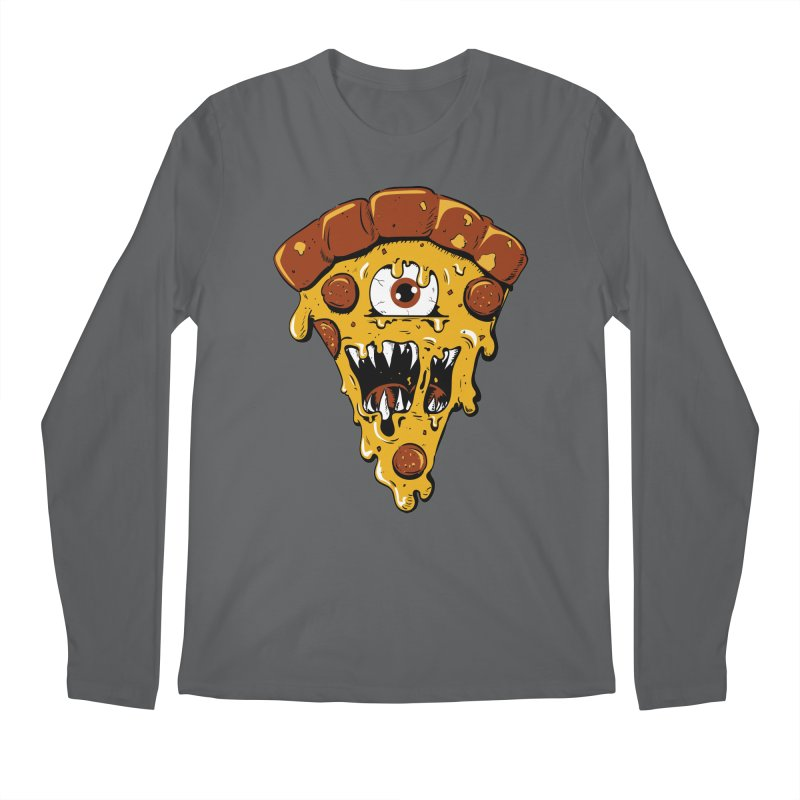 Monster Slice Men's Longsleeve T-Shirt by James Zintel