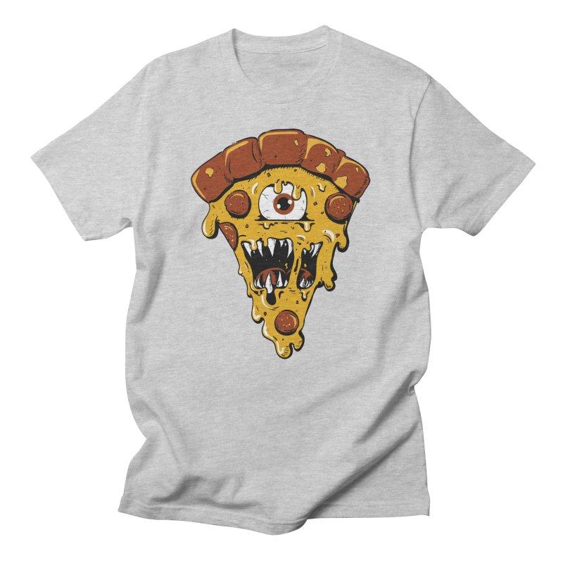Monster Slice Men's T-Shirt by James Zintel