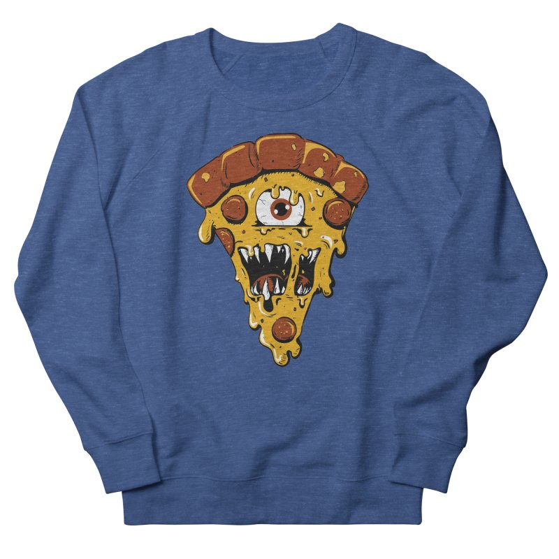 Monster Slice Men's Sweatshirt by James Zintel