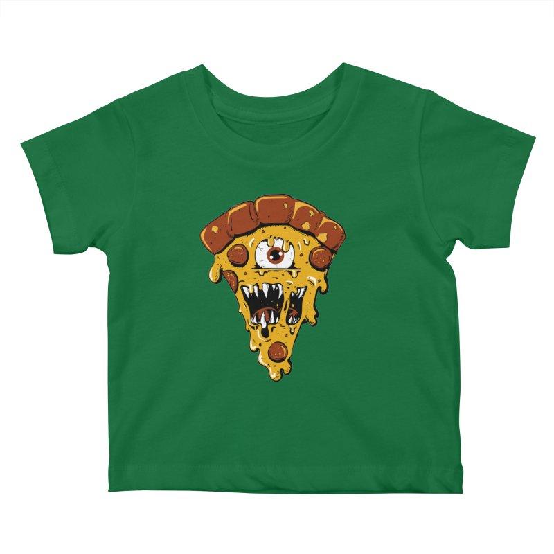 Monster Slice Kids Baby T-Shirt by James Zintel