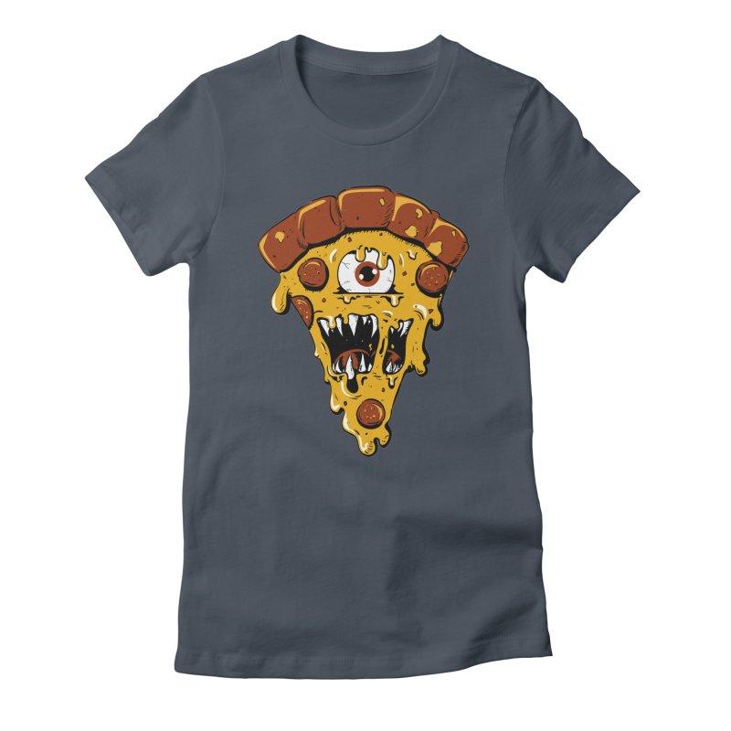 Monster Slice Women's T-Shirt by James Zintel