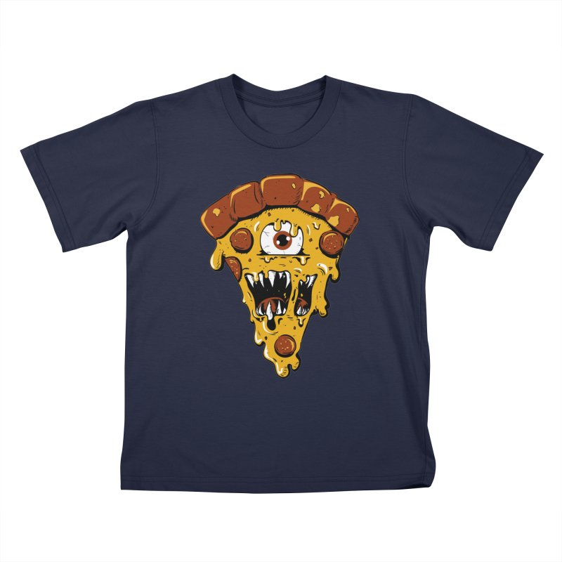 Monster Slice Kids T-Shirt by James Zintel